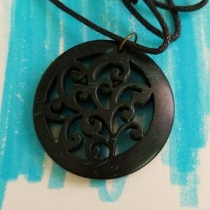 Pendant on Adjustable Cord